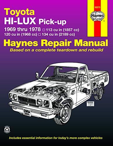 9780856965166: Toyota Hi-lux and Hi-ace Owner's Workshop Manual (Haynes Manuals)