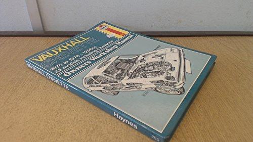 9780856965234: Vauxhall Chevette Owner's Workshop Manual