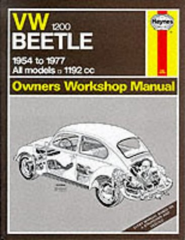 9780856965241: Volkswagen Beetle 1200 1954-77 Owner's Workshop Manual (Service & Repair Manuals)