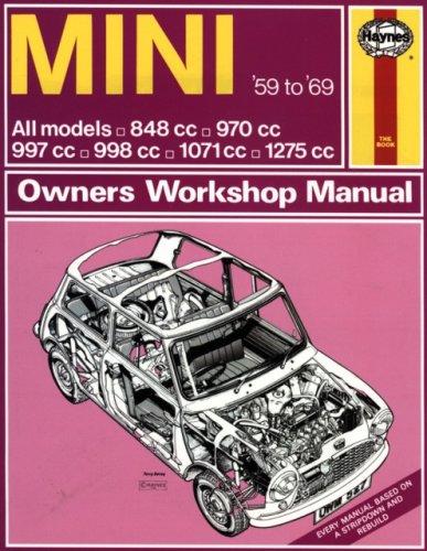 9780856965272: Haynes Mini Owners Workshop Manual, No. 527: 1959-1969 All Models 848cc, 970cc, 997cc, 998cc, 1071cc, 1275cc