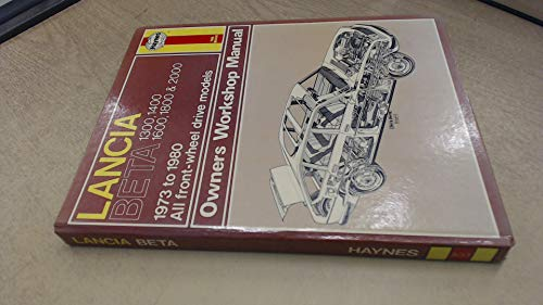 9780856965333: Lancia Beta Owner's Workshop Manual (Service & repair manual)