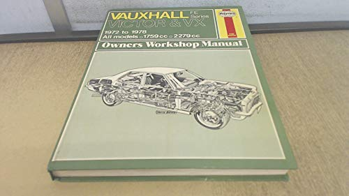 9780856965418: Vauxhall Victor and VX 4/90 FE Series Owner's Workshop Manual