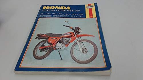 9780856965661: Honda XL/XR80, 100, 125, 185 and 200 Owner's Workshop Manual