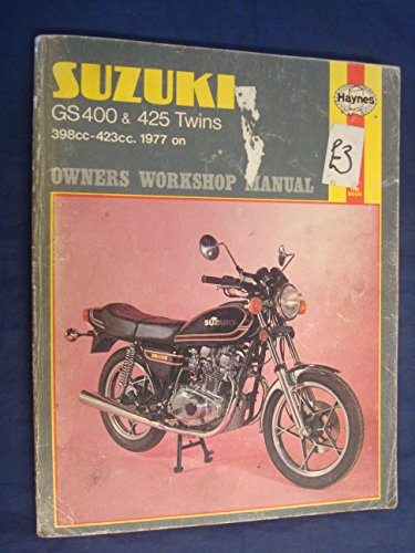 9780856965807: Suzuki GS400 and 425 Twins 1977-80 Owner's Workshop Manual