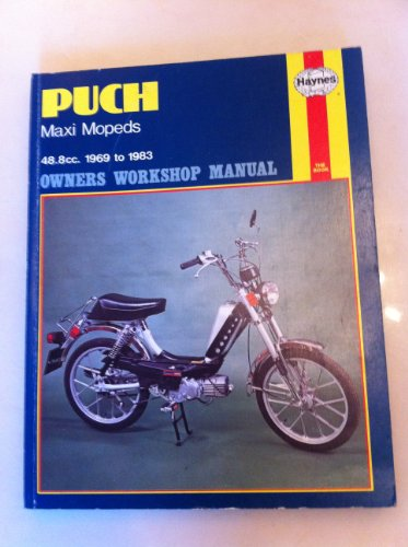 9780856965821: Puch Maxi Mopeds Owner's Workshop Manual