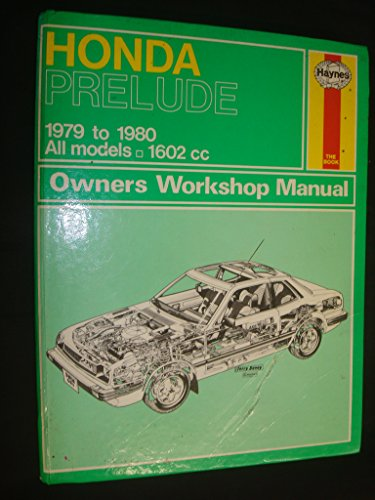 9780856966019: Honda Prelude: Owners Workshop Manual