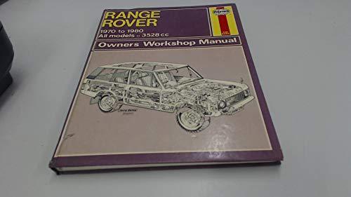 9780856966064: Range Rover Owner's Workshop Manual