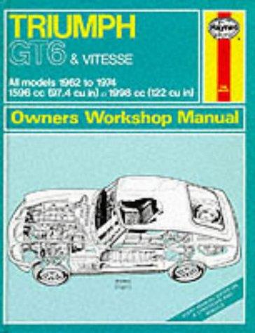 Haynes Triumph Gt6 Vitesse Owners' Workshop Manual, 1962-1974 (Classic Reprint Series: Owner&...
