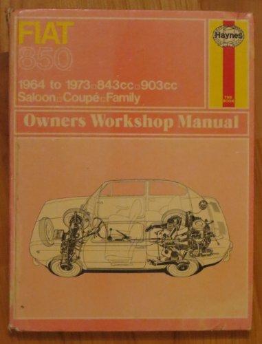 9780856966170: Fiat 850 Owner's Workshop Manual (Service & repair manuals)