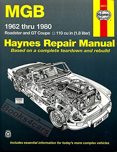M. G. B. Automotive Repair Manual (Paperback)
