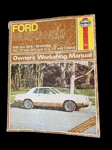 9780856966293: Ford Mustang II, 1974-78 (Haynes Repair Manuals)