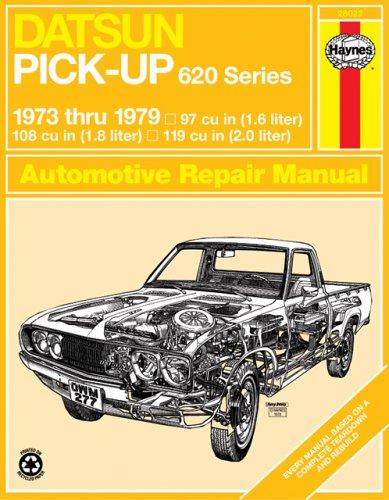 9780856966439: Datsun 620 Pick-up Owner's Workshop Manual (Service & Repair Manuals)