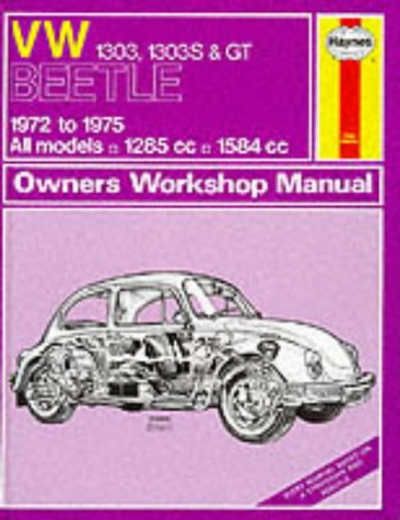 9780856966453: Volkswagen Beetle 1303, 1303S and G.T. 1972-75 Owner's Works