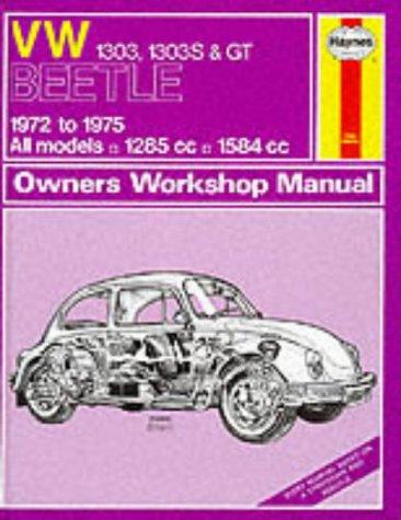 Volkswagen Beetle 1303, 1303S and G.T. 1972-75: Kinchin, K.F.