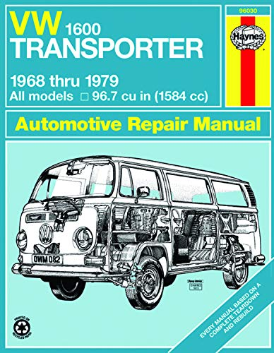 9780856966606: VW Transporter 1600 Owners Workshop Manual: All Volkswagen Transporter 1600 Models with 1584 cc (96.7 cu in) engine [1968-79]