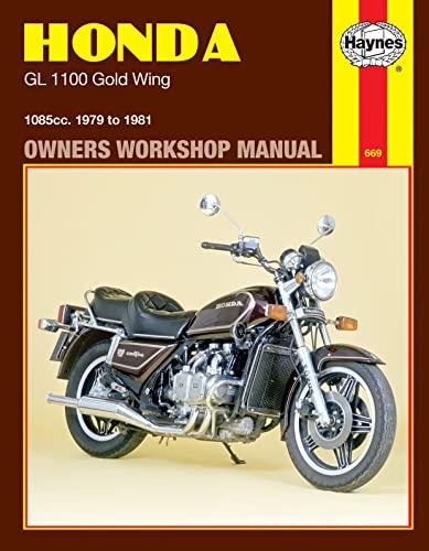 9780856966699: Honda GL1100 Gold Wing, 1979-81 (Haynes Manuals)