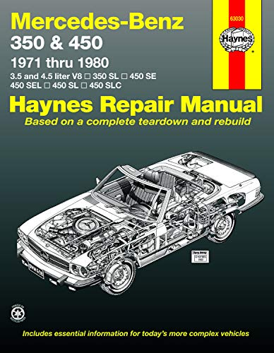 9780856966989: Mercedes-Benz 350 and 450 V8's 1971-80 Owner's Workshop Manual (USA service & repair manuals)