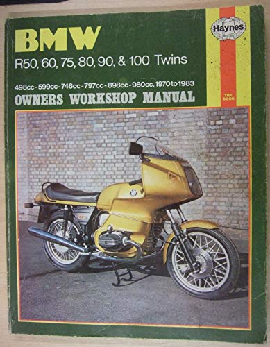 9780856967085: B. M. W. R50, 60, 75, 80, 90 and 100 Twins 1970-83 Owner's Workshop Manual