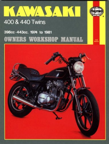 9780856967115: Kawasaki KZ400 and 440 Twins Owners Workshop Manual, No. 281: '74-'81 (Haynes Repair Manuals)