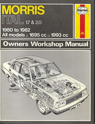 9780856967146: Morris Ital 1.7 and 2.0 Owner's Workshop Manual