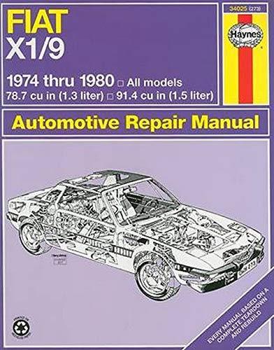9780856967177: Fiat X1-9, 1974-1980 (Haynes Manuals)