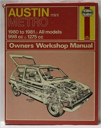 9780856967184: Austin Metro Owner's Workshop Manual