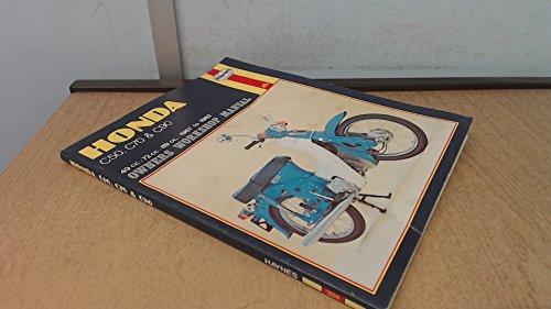 9780856967214: Honda C50, C70 and C90 Owner's Workshop Manual