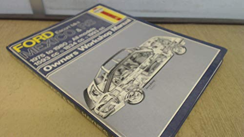 9780856967351: Ford Escort Mk II Mexico, RS 1600 & RS 2000 (1975-1980) (Classic Reprint Series: Owner's Workshop Manual)
