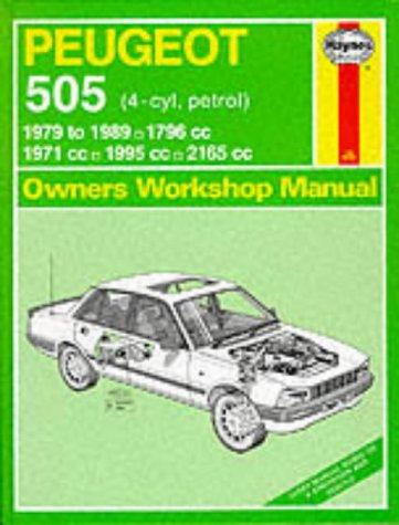 9780856967627: Peugeot 505 (Petrol) 1979-89 Owner's Workshop Manual
