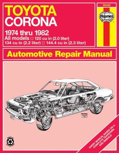 9780856967696: Toyota Corona, 1974-82 (Haynes Repair Manuals)