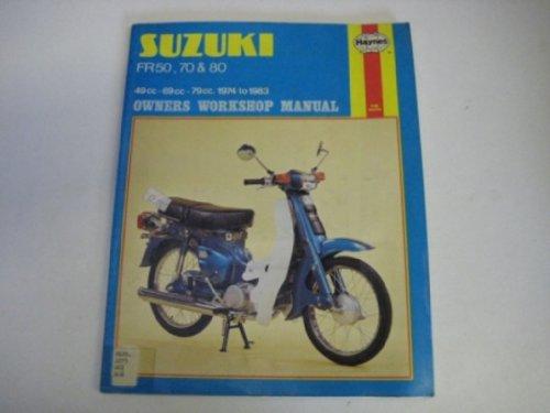 9780856968013: Suzuki FR50, 70 and 80 Owner's Workshop Manual (Owners workshop manual/Haynes)