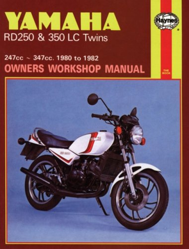 9780856968037: Yamaha Rd250 and Rd350 LC Twins Owners Workshop Manual, No. 803: '80-'82 (Motorcycle Manuals)