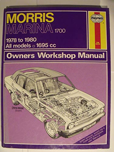 Morris Marina 1700 Owner's Workshop Manual (Service & repair manuals): Gilmour, Bruce