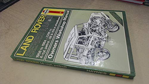 9780856968457: Land Rover Series 2, 2A and 3 1958-84 Owner's Workshop Manual