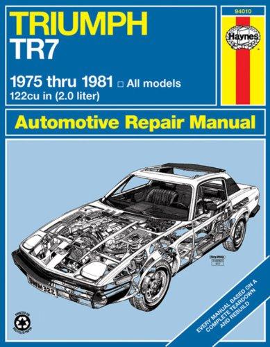 9780856968488: Triumph TR7 1975 thru 1981 (Haynes Manuals)