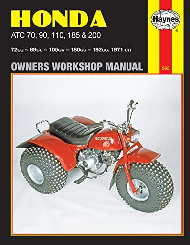 9780856968556: Honda Atc 70, 90, 110, 185 and 200 Manual