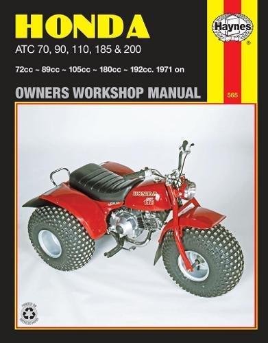 9780856968556: Honda ATC 70, 90, 110, 185 & 200, 1971 on (Owners Workshop Manual) (Haynes Repair Manuals)