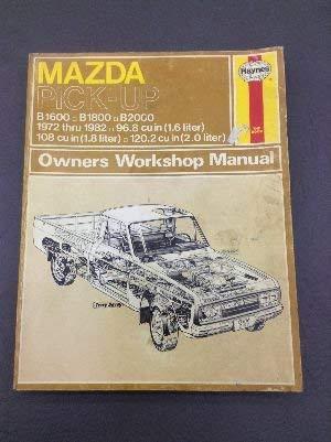 mazda b1600 workshop manual abebooks rh abebooks com Mazda B2600i mazda b1600 workshop manual free download