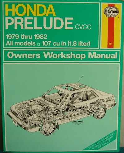 9780856968617: Honda Prelude CVCC 1979-82 Owner's Workshop Manual