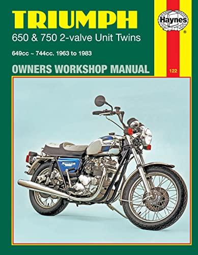 9780856968907: Triumph 2-Valve Unit Twins, 1963-83 (Haynes Repair Manuals)