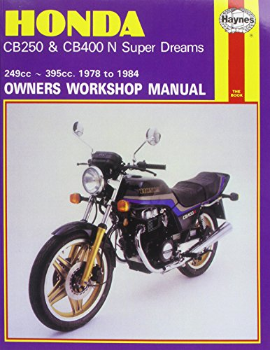 9780856968938: Honda CB250 and CB400N Superdreams Owner's Workshop Manual (Motorcycle Manuals)