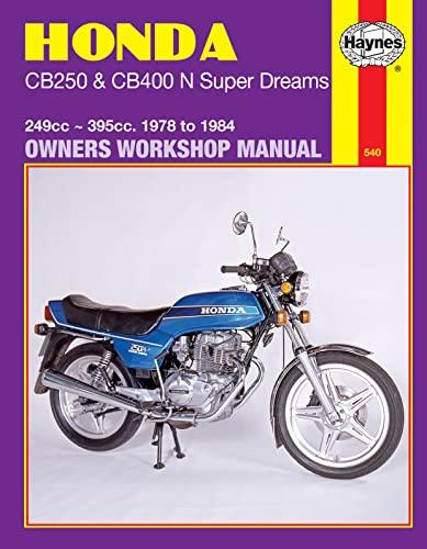 9780856968938: Honda CB250 and CB400N Superdreams Owner's Workshop Manual (Motorcycle Manuals)