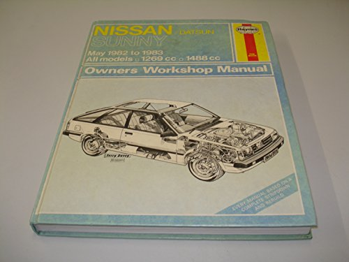 9780856968952: Nissan/Datsun Sunny 1982-83 Owner's Workshop Manual