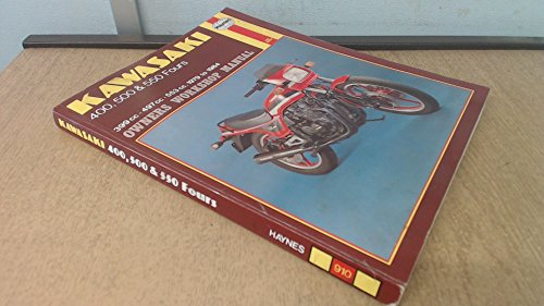 Kawasaki 400, 500 & 550 Fours 1979-84 Owners Workshop Manual: Churchill, Jeremy