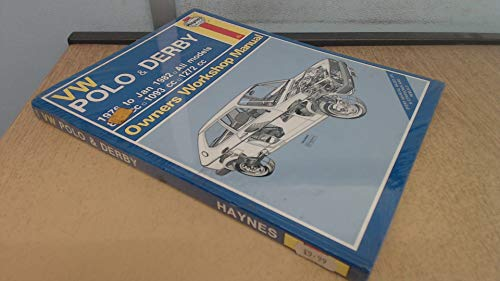 9780856969249: Volkswagen Polo and Derby 1976-82 Owner's Workshop Manual (Service & repair manuals)