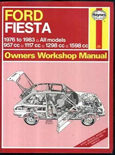 9780856969447: Ford Fiesta Automotive Repair Manual, 1977-1980