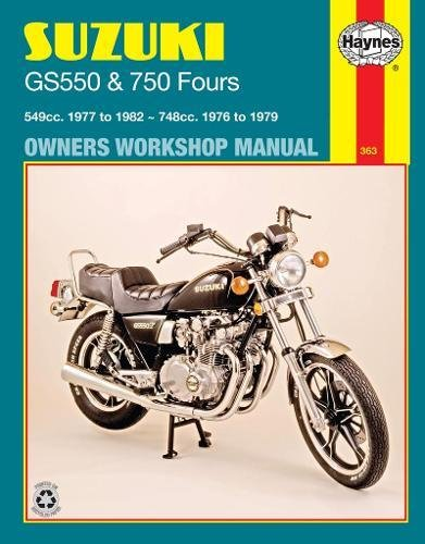 9780856969461: Suzuki GS550 and GS750 Fours Owners Workshop Manual, No. M363: '76-'82
