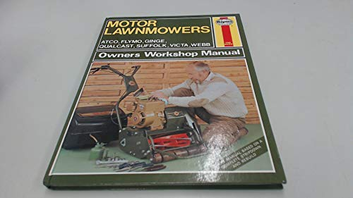 motor lawnmower haynes owners workshop manual by crawley m c rh abebooks com haynes motor lawn mowers manual John Deere Lawn Mower Manuals
