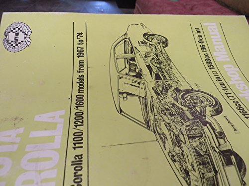 9780856969607: Toyota Corolla Owners Workshop Manual