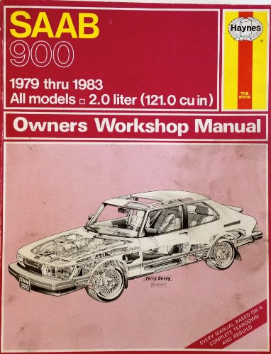 9780856969805: Saab Owners Workshop Manual: Models Covered, Us : Saab 900, 900 S, 900 Ems, 900 Gl, 900 Gle, 900 Gli and 900 Turbo, 2.0 Liter, Covers 3-,4- &5-Door M